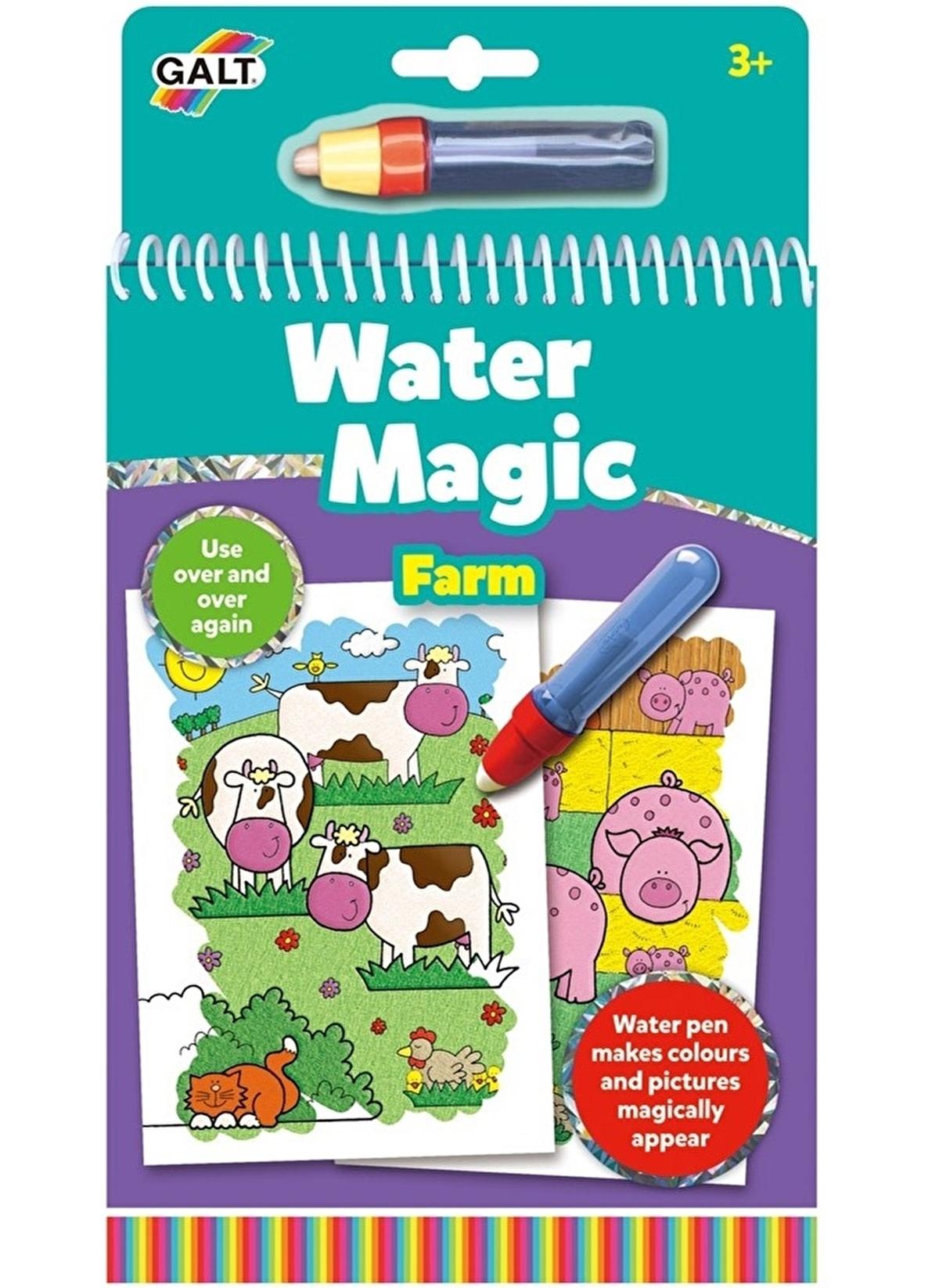 Galt Unisex Cocuk Galt Water Magic Sihirli Boyama Kitabi Ciftlik